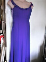 BNWT STUNNING LADIES PURPLE GRAPE & CERISE CHIFFON DRESS ROMANTICA BLUE MOON 10
